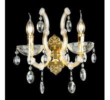 Бра Crystal Lux Hollywood AP2 Gold