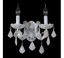 Бра Crystal Lux Ines AP2 White