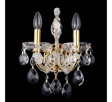 Бра Crystal Lux Isabel AP2 Gold/Transparent